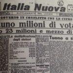 Il referendum che divise l'Italia